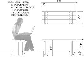 bench park bench plan diy concrete bench plans pdf diy wood dog