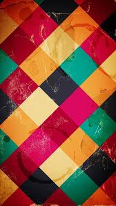 colorful diamond pattern iphone 5 wallpaper hd free download