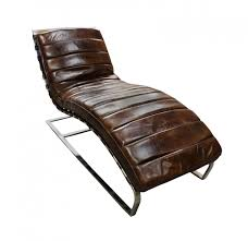 chaise lounge sofa leather leather chaise lounge chair decofurnish