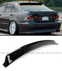 lexus cars for sale on ebay hic smoked tinted jdm rear roof window visor deflector for 2001