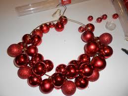 nice ideas christmas bulb wreath how to make a ornament ball