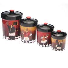 italian kitchen canisters italian canister set ebay