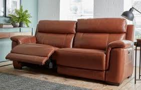 Brown Leather Recliner Sofa Leather Recliner Sofas In Classic U0026 Modern Styles Dfs