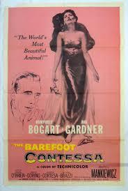 barefoot contessa barefoot contessa humphrey bogart ava gardner 1954 movie poster