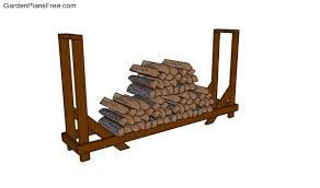 firewood rack plans free garden plans how to build garden projects