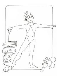 gymnastics coloring pages olympic coloringstar