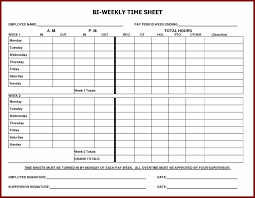printable employee time sheets best template u0026 design images