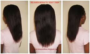 how to trim relaxed hair 103 best relaxed hair length checks images on pinterest hair