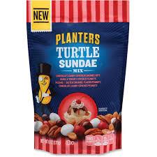 Turtle Planter Planters Turtle Sundae Mix Peanut Pecan Caramel Bits 6 Oz