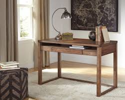 Writing Desks For Home Office Baybrin Rustic Brown Home Office Small Desk H587 10 Home