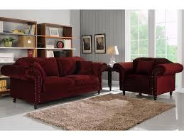 canapé velours canapé et fauteuil 100 velours 3 coloris elisabeth