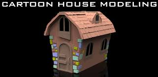 maya for beginners model a cartoon house tutorial introduction
