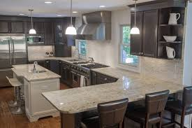 Kitchen Island Granite Countertop Kitchen Top 5 Light Color Granite Countertops Countertop Kitchen