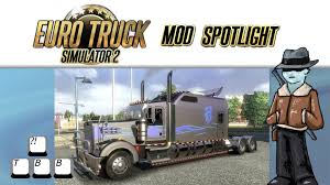 kenworth europe euro truck simulator 2 mod spotlight kenworth w900 long youtube
