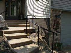 lines on this wrought iron railing from selby ornamental iron