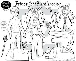 printable paper dolls paper doll coloring pages a printable coloring page of a prince