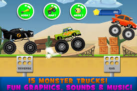 monster truck video download free monster trucks game for kids 2 android apps on google play