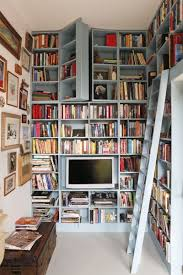 Bookshelves Small Spaces by 21 Stunning Bookshelves You U0027ll Want For Your Home Book Nooks