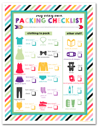 Travel Packing List images I should be mopping the floor free printable children 39 s travel jpg