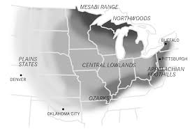 Map Of Midwestern States by Maps Of The Midwest U2013 Raygun