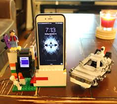 lego watch and phone charging station pebble