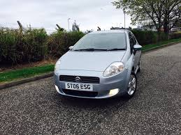 used fiat grande punto hatchback 1 4 active sport 3dr in edinburgh