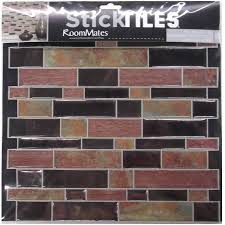 stick on backsplash tiles for kitchen art3d 12 x 12 peel and stick backsplash tiles for kitchen