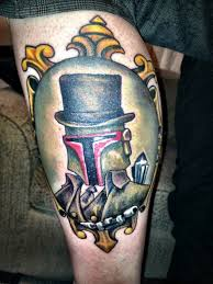 gentleman boba fett tattoo dorkly post