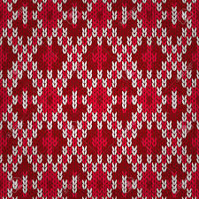 christmas pattern knit fabric seamless christmas red knitted pattern style knit woolen jacquard