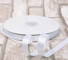 thick ribbon white ribbon high end thick 1 inch 50 yards roll