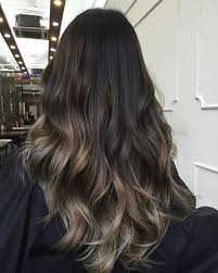 ombre hair growing out a dark base keeps maintenance low as your roots start to grow out