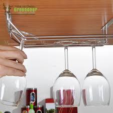 Wine Glass Holder Under Cabinet Kitchen Stemware Rack Cabinet Wine Rack Insert Under Shelf