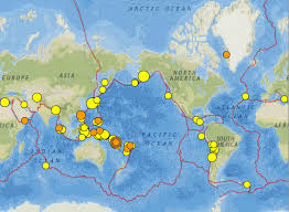 Alaska Fire Map by Vanuatu Greece And Alaska Earthquakes 31 March 6 April 2016
