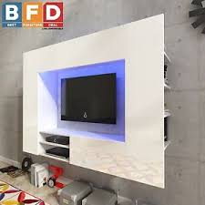 white high gloss living wall unit tv cabinet tv unit wall mounted
