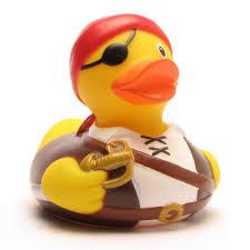 badeente pirat bandana rubber duck pirate badeenten rubber