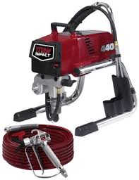 paint sprayer airless paint sprayer titan tool impact 640 all seasons rent all
