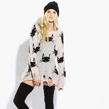 83 wildfox sweaters wildfox white label cat lennon