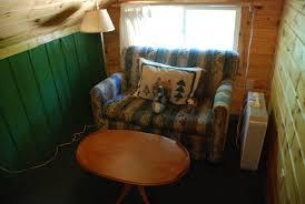 Cabin Sofa The Reunion Cabin Park Rapids Cabins Resort Minnesota