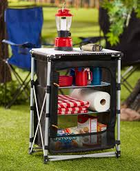 Portable Camping Kitchen Organizer - camping storage table ltd commodities my outdoor shots at ltd