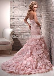 aliexpress com buy gorgeous ruched sweetheart chapel train