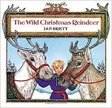 christmas reindeer the christmas reindeer jan brett 9780698116528
