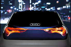 audi digital illustrated lighting technologies
