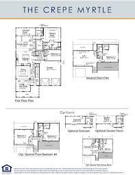3 Bedroom Floor Plans With Bonus Room by Floorplans U2014 May River Preserve