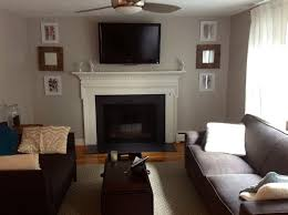 painted brick fireplace with white brick stone fireplace with