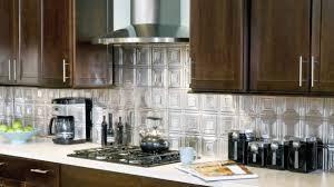 stainless steel tiles for kitchen backsplash big metallic tiles kitchen backsplash metal tile ideas gorgeous 5 20