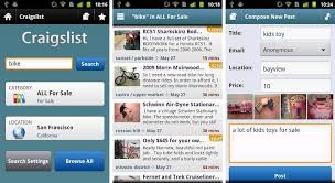 best android apps for buying or selling on craigslist and ebay - Craigslist Android App