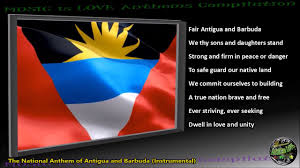 Flag Of Antigua Antigua And Barbuda National Anthem
