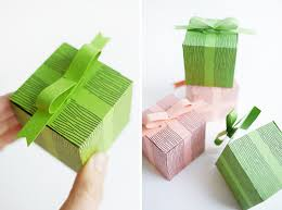 bow boxes printable faux bow gift boxes