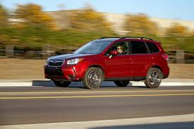 subaru red 2014 subaru forester 2 0xt long term update 3 motor trend