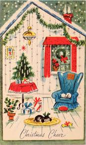christmas jeep clip art 1007 best vintage xmas cards images on pinterest cards